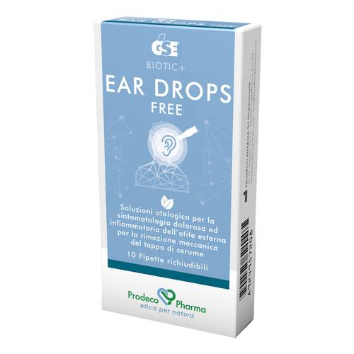GSE EAR DROPS FREE 10PIP 0,3ML